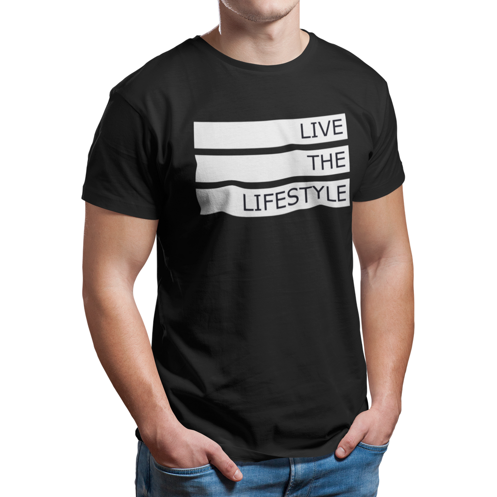 Men's Live the Lifestyle Graphic Tee