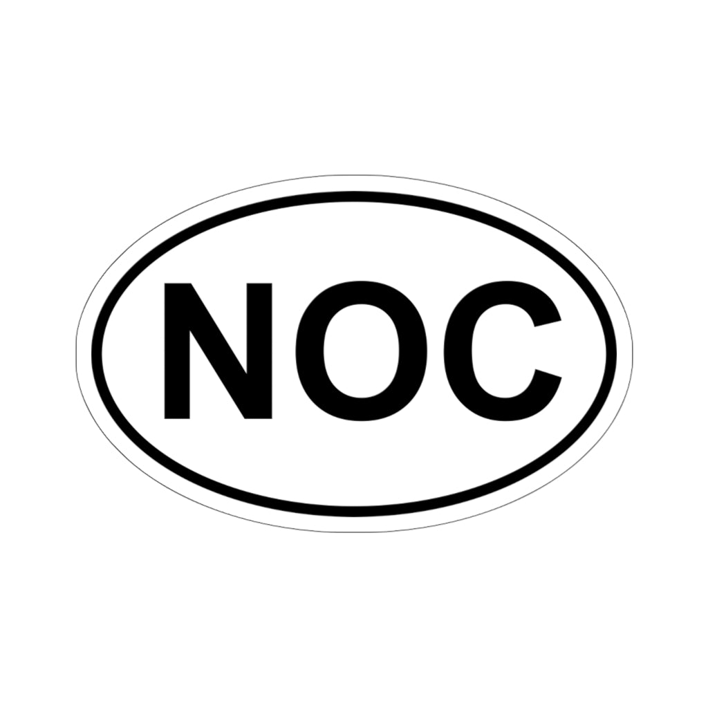 NOC Bumper Sticker