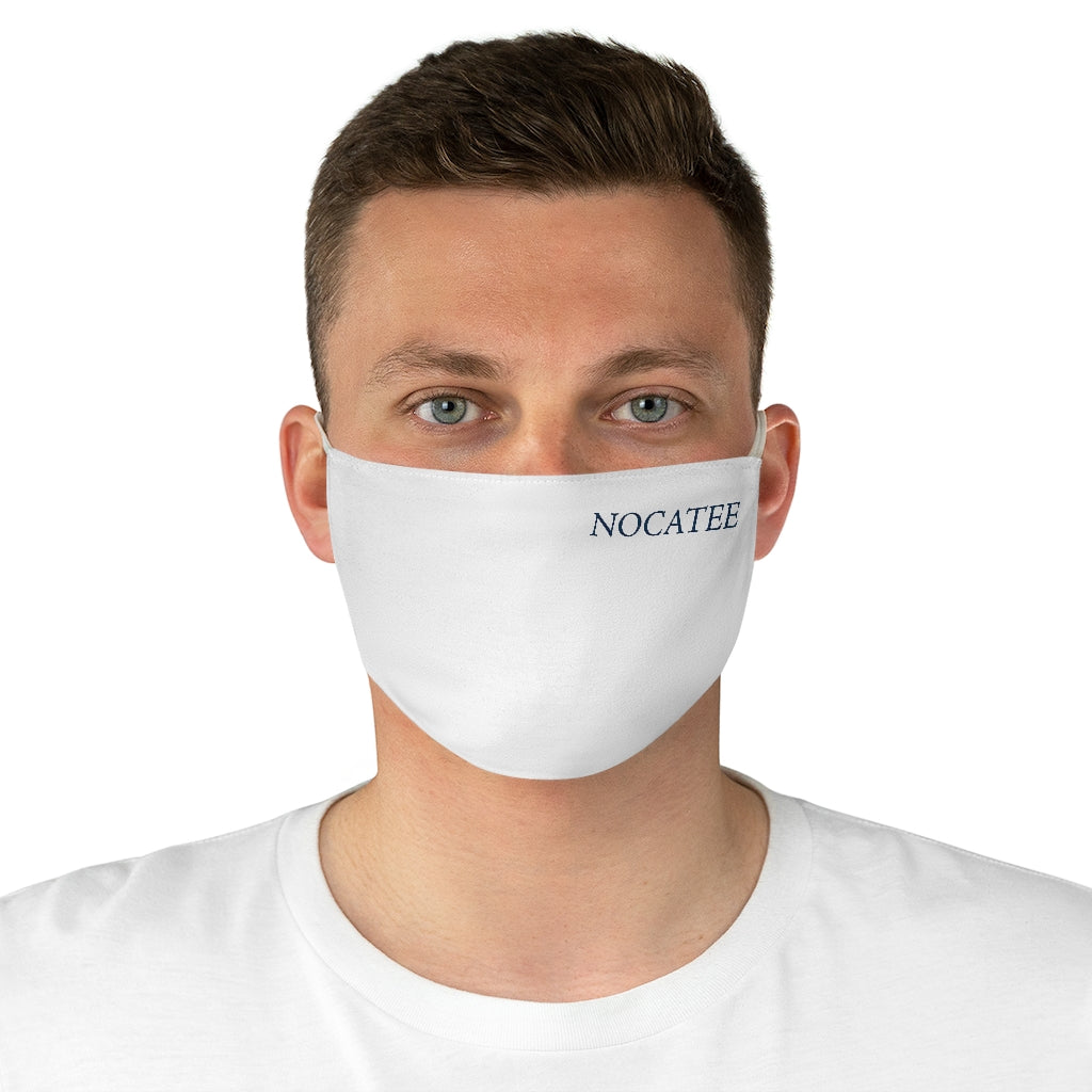 Nocatee Fabric Face Mask - White