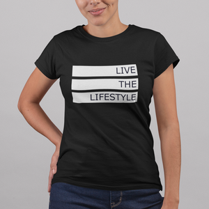 Women's Live the Lifestyle Graphic Tee