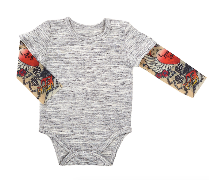 Tattoo Sleeve Snapshirt Onsie