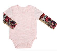 Load image into Gallery viewer, Tattoo Sleeve Snapshirt Onsie