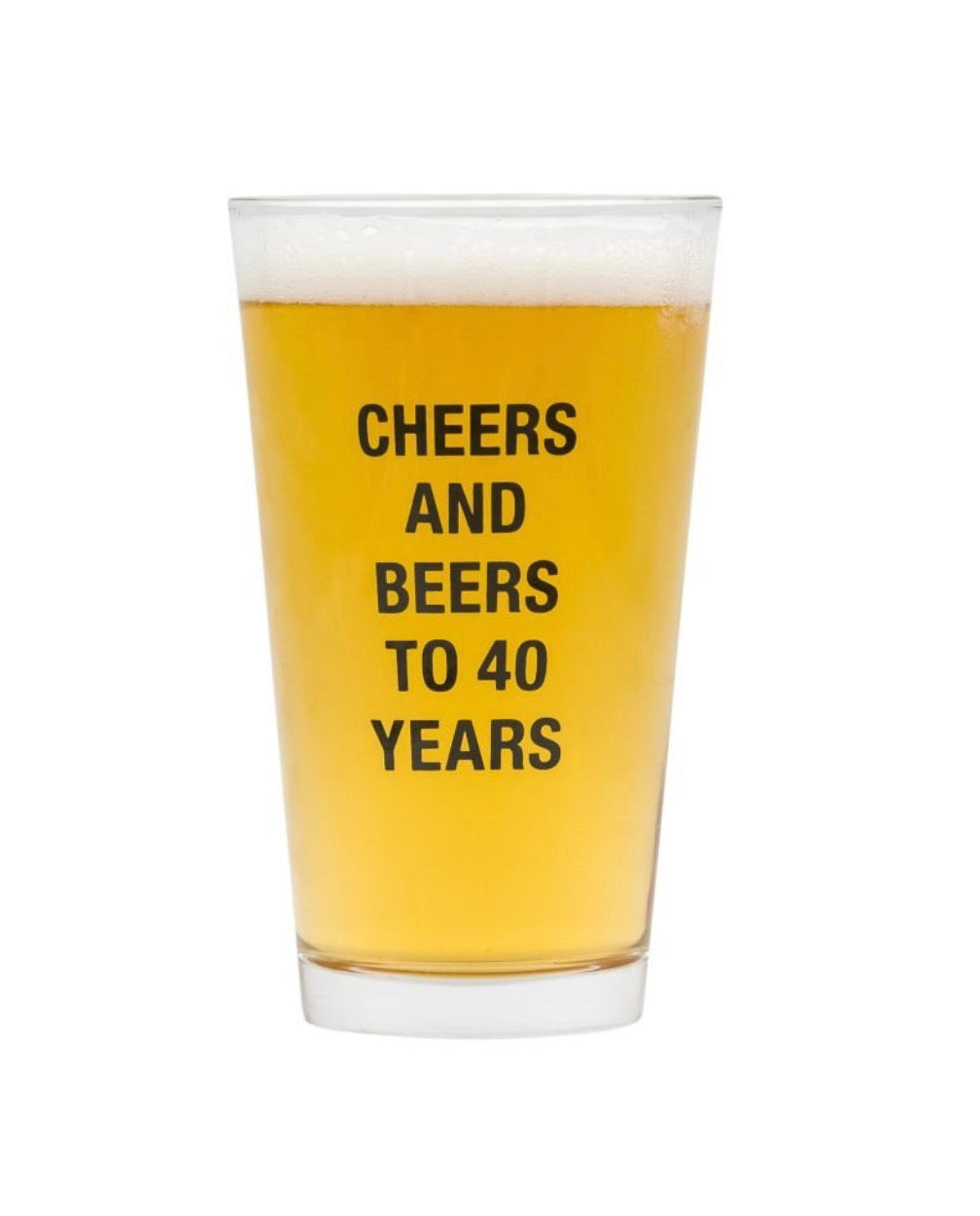 Cheers and Beers to.... Years!