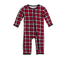 Load image into Gallery viewer, Crimson Plaid Holiday Jammies