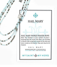 Load image into Gallery viewer, Morse Code Prayer Rope