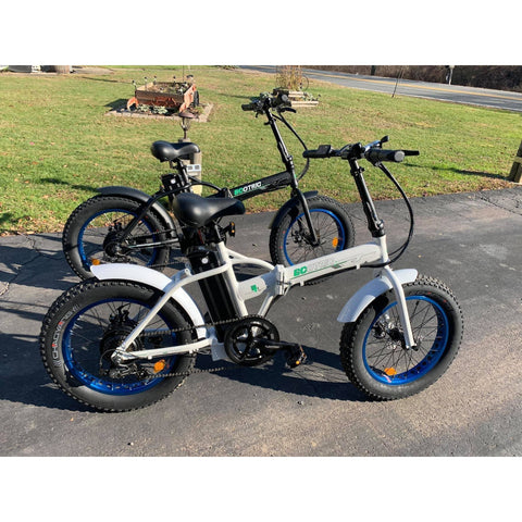Image of Ecotric Folding Fat Tire Electric Bike 500W 36V, Folding Fat Tire Electric Bike, Electric Bike Pros