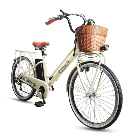 "Image of NAKTO City Electric Bicycle Classic 26"" E-Bike NAKTO"