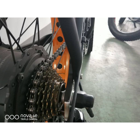 Image of Rear Rack and Fenders for 26inch Fat Tire Bike and Ecotric Rocket