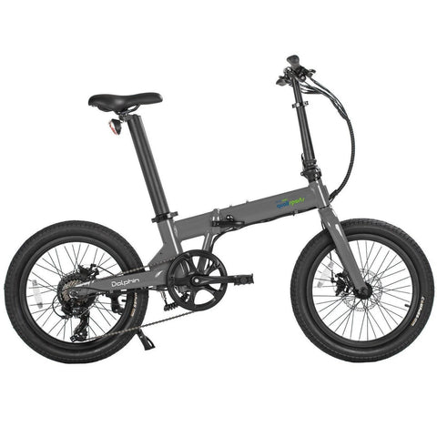 QualiSports Qualibike Dolphin 36V/14Ah 350W Folding Electric Bike - Electricbikepros