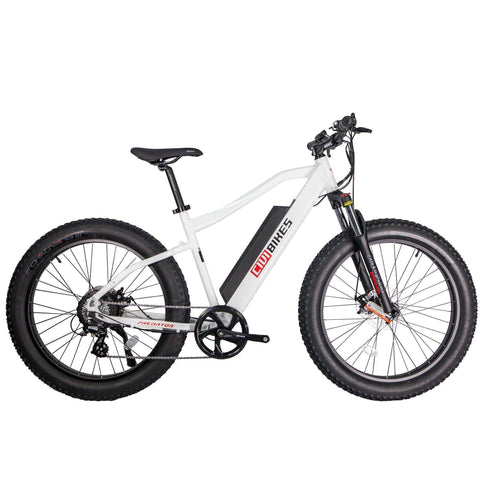 Civi Bikes PREDATOR - Fat Tire Electric Bike E-Bike CIVI BIKES Pearl White