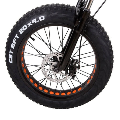 "Nakto Mini Cruiser 36V/10AH 300w 20"" Fat Tire Electric Bike"