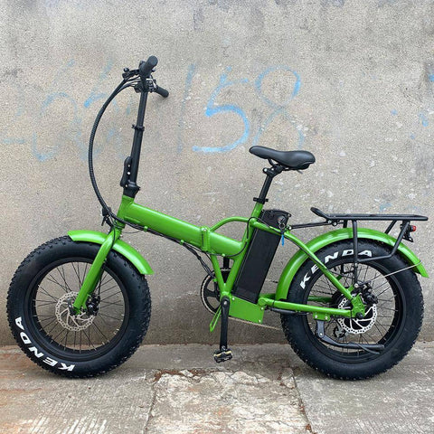 Eunorau E-FAT-MN 48V/12.5 500W Folding Fat Tire Electric Bike