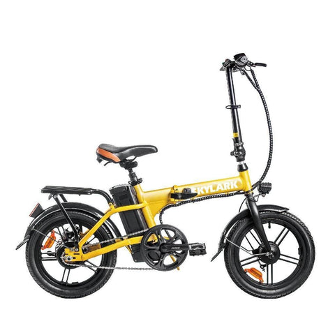 Image of NAKTO Folding Electric Bicycle 16'' Skylark