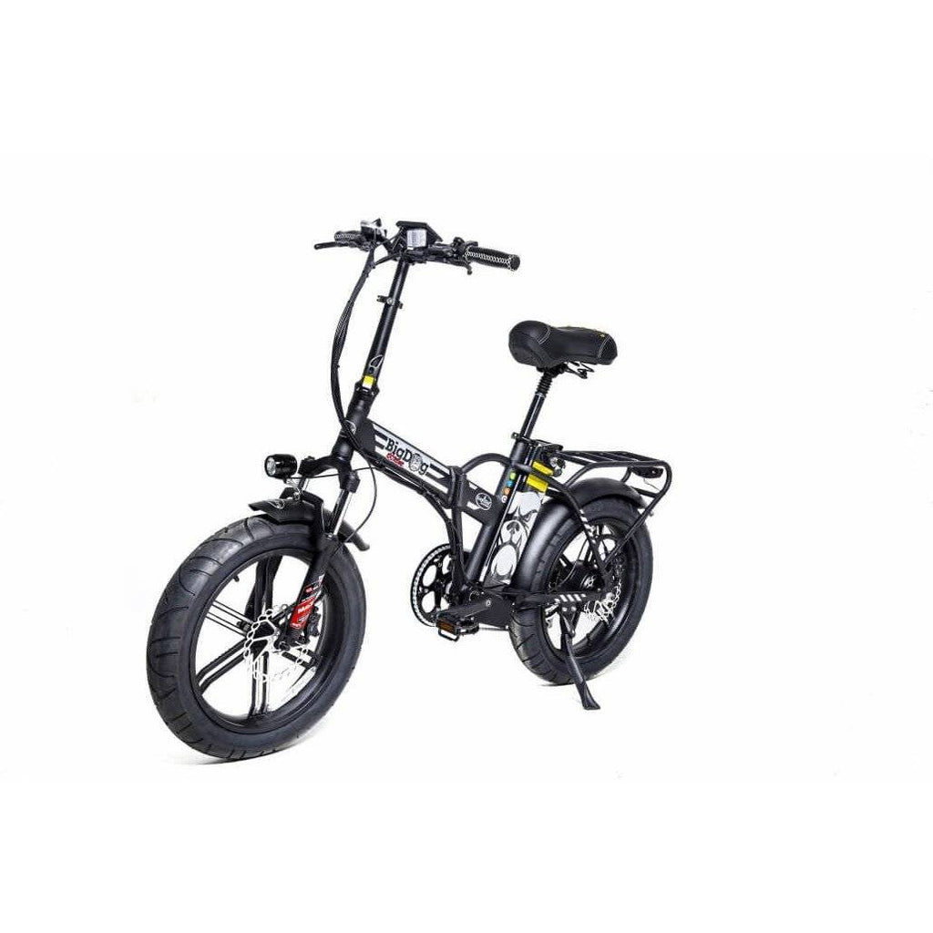 GreenBike Electric Motion Big Dog Extreme 2021 EDITION 48V/15.9Ah 750W Folding Fat Tire Electric Bike