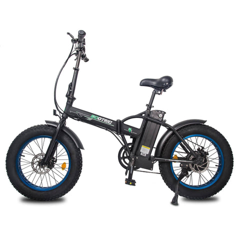 Image of Ecotric 48V/13Ah 500W Folding Fat Tire Electric Bike