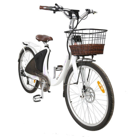 Ecotric Lark Electric City Bike For Women E-Bike Ecotric