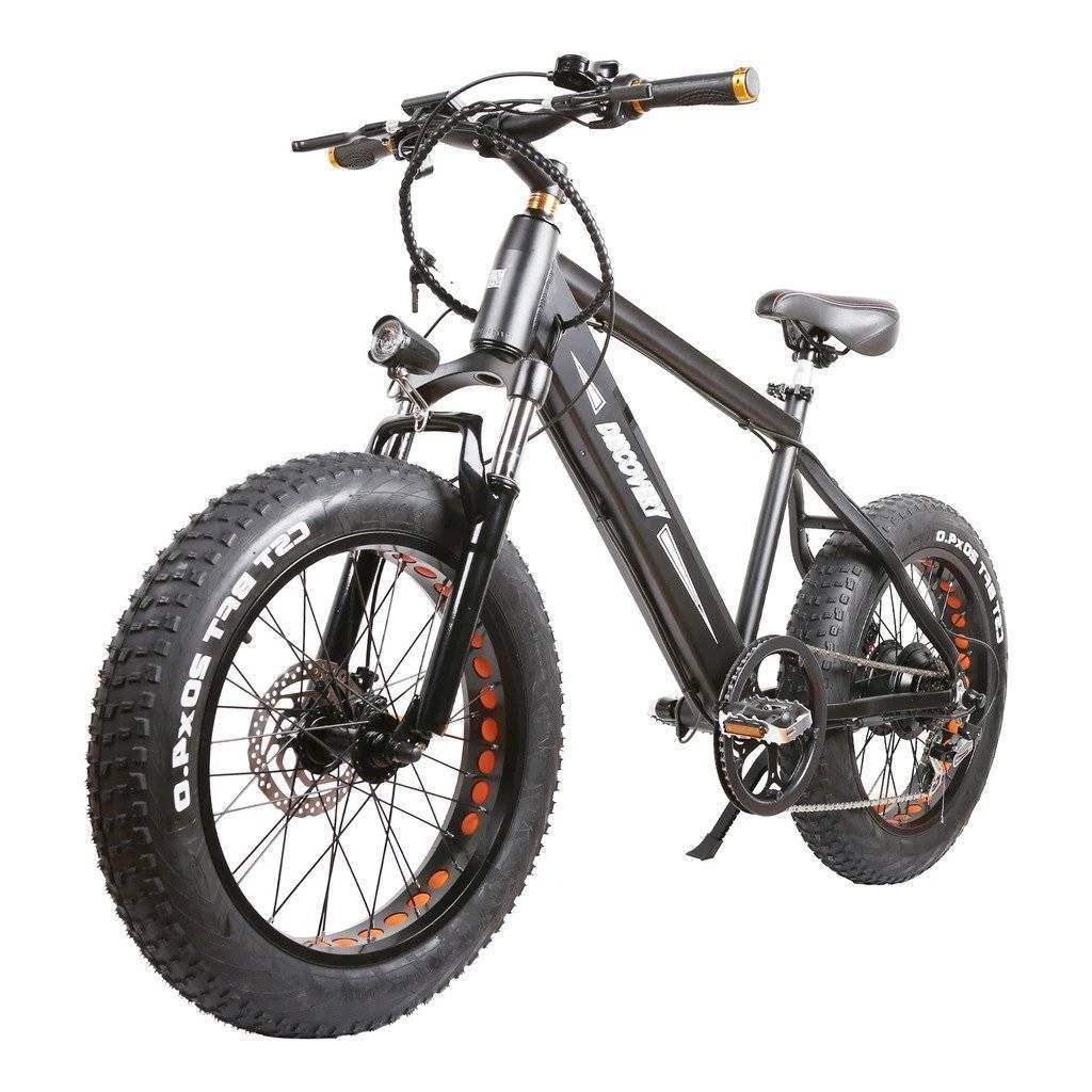 "Nakto Discovery 20"" Fat Tire Electric Bike - 300W 48V"