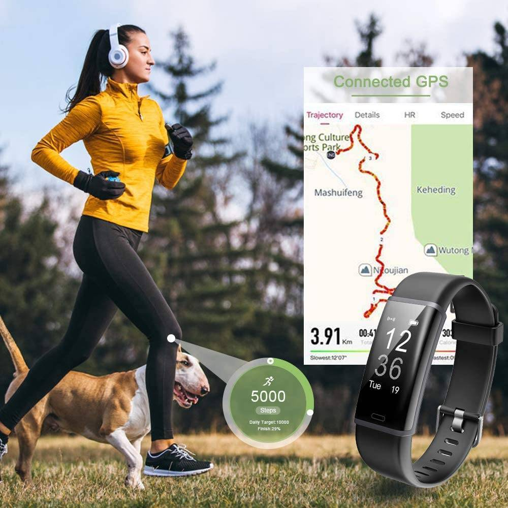 Fitness Tracker and Heart Rate Monitor with 14 modes