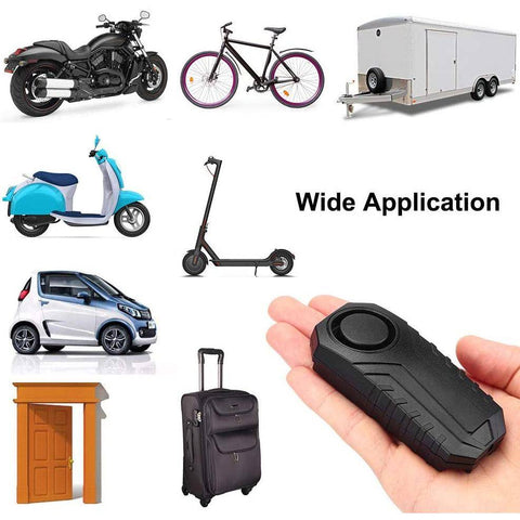 113dB Waterproof Bike Alarm with Remote - Electricbikepros