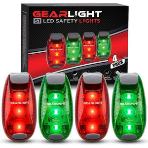 Ultra Bright 3 Mode 51 LED Safety Lights [4 Pack]