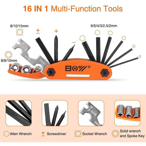 Image of 12 in 1 Electric Bike Repair Kit - Electricbikepros