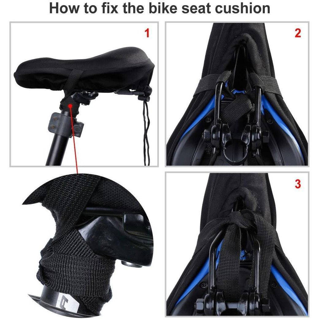 Extra Soft Gel Bicycle Seat Cushion