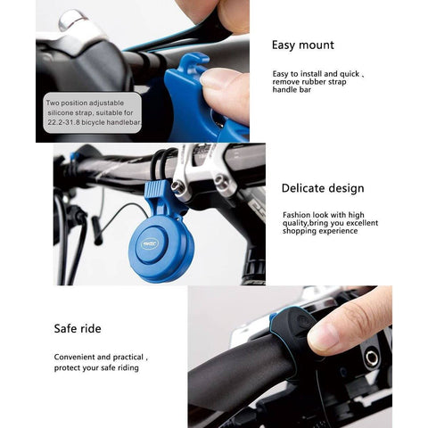 Image of 120 DB 3 Mode Waterproof Electric Bike Horn - Electricbikepros