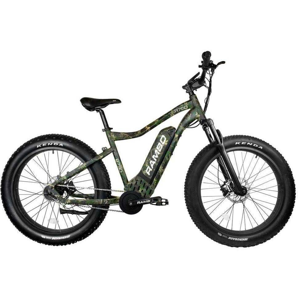 Rambo Roamer 48V/14Ah 750W Fat Tire Electric Hunting Bike