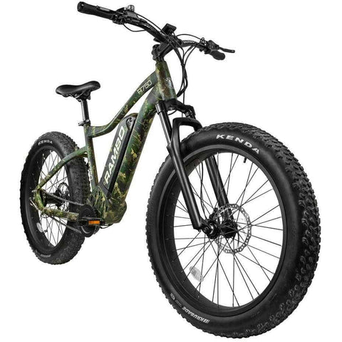 Rambo Bikes The Roamer 48V/10.4Ah 750W Fat Tire Electric Hunting Bike