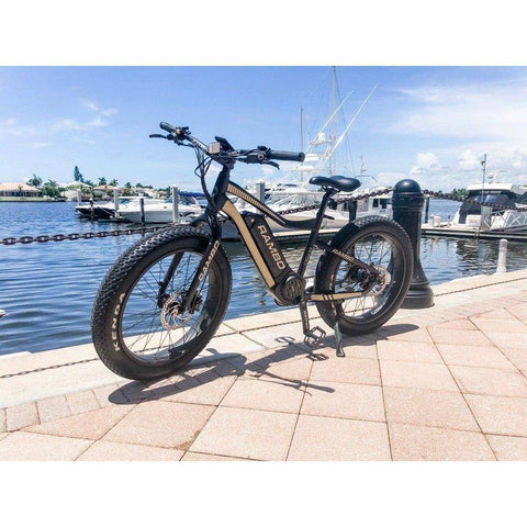 Rambo Bikes The Ryder 48V/14Ah 750W Fat Tire Electric Hunting Bike - Electricbikepros
