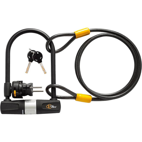 Image of FREE GIFT: Heavy Duty E-Bike U Lock with Cable