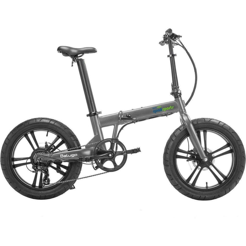 QualiSports Qualibike Beluga 48V/10.5Ah 500W Folding Electric Bike - Electricbikepros