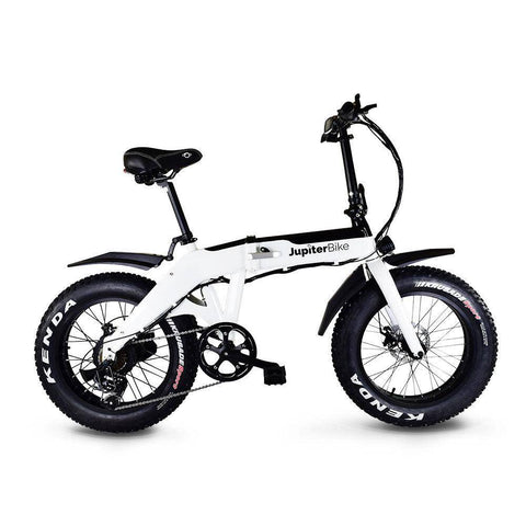 Jupiter Bike Defiant Folding Fat Tire Electric Bike, All terrain Electric Bike, 750w Electric Bike