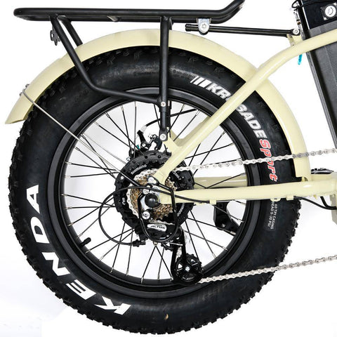 Eunorau E-FAT-STEP 48V/12.5Ah 500W Step-Thru Folding Fat Tire Electric Bike