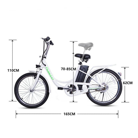 Image of NAKTO Elegance 36V/10Ah 250W Cruiser Electric Bike With Basket