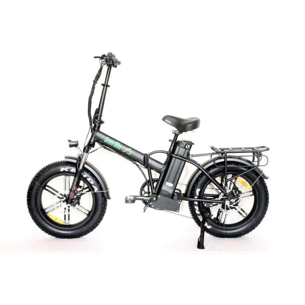 Green Bike USA 20'' Folding Electric Bike With 4-inch Fat Tires GB1 750 MAG