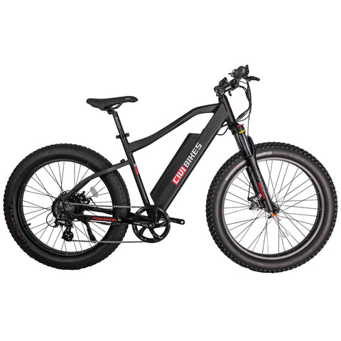 Civi Bikes PREDATOR - Fat Tire Electric Bike E-Bike CIVI BIKES Matte Black