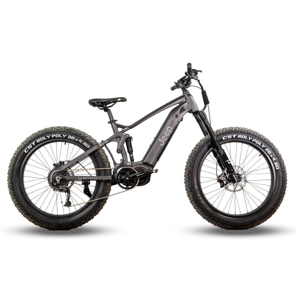 Quietkat Jeep Electric Bike 48V/14.5Ah 750W Fat Tire Electric Mountain Bike