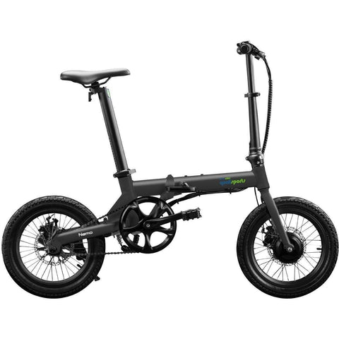 QualiSports Qualibike Nemo 36V/7Ah 250W Folding Electric Bike - Electricbikepros