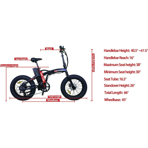 Image of Civi Bikes REBEL 1.0 - Fat Tire Electric Bike E-Bike CIVI BIKES