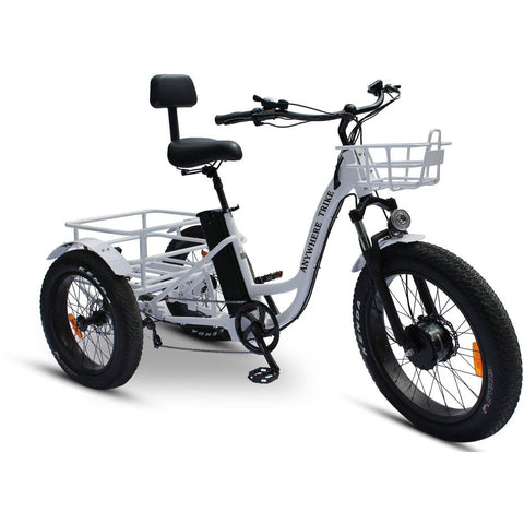Image of Anywhere Bikes Rugged Edition 48V/15.6Ah 500W Fat Tire Electric Trike AT-94W