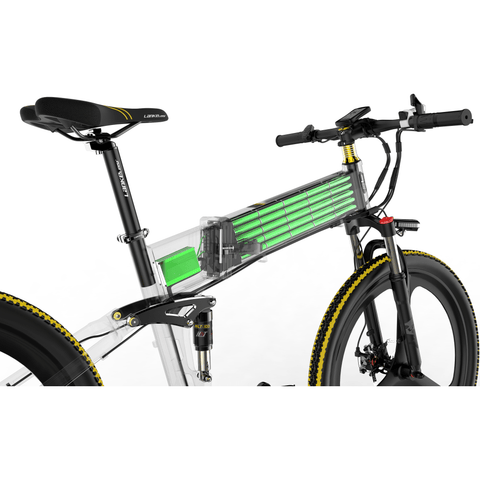 Image of Lankeleisi LankRover 26in Foldable Electric Bike XT750