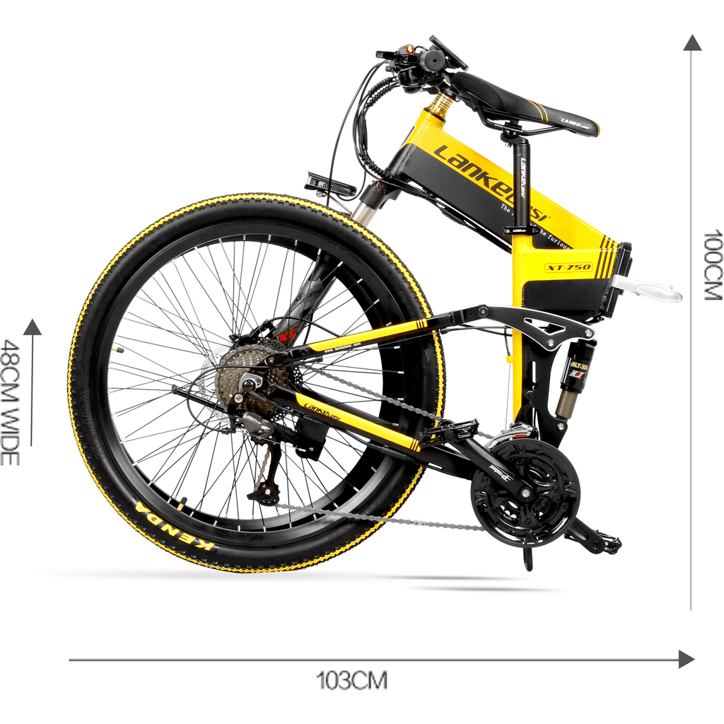 Lankeleisi LankRover 26in Foldable Electric Bike XT750