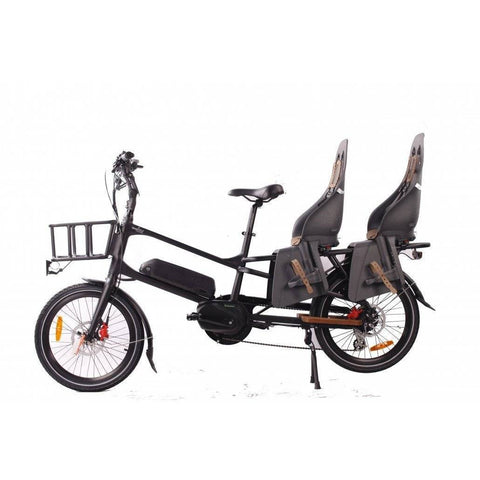 GreenBike Electric Motion Cargo Bike 48V10.4Ah-12.8Ah 500W Cargo Electric Bike - Electricbikepros