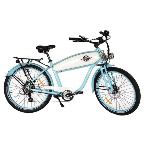 Image of Wildsyde Hunni Bunni 48V/17.5Ah 500W Retro Cruiser Electric Bike