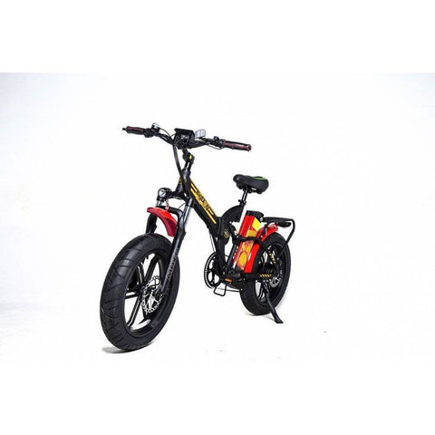 Image of GreenBike Electric Motion Big Dog Off Road 2021 EDITION 48V/15.9Ah 750W Folding Fat Tire Electric Bike