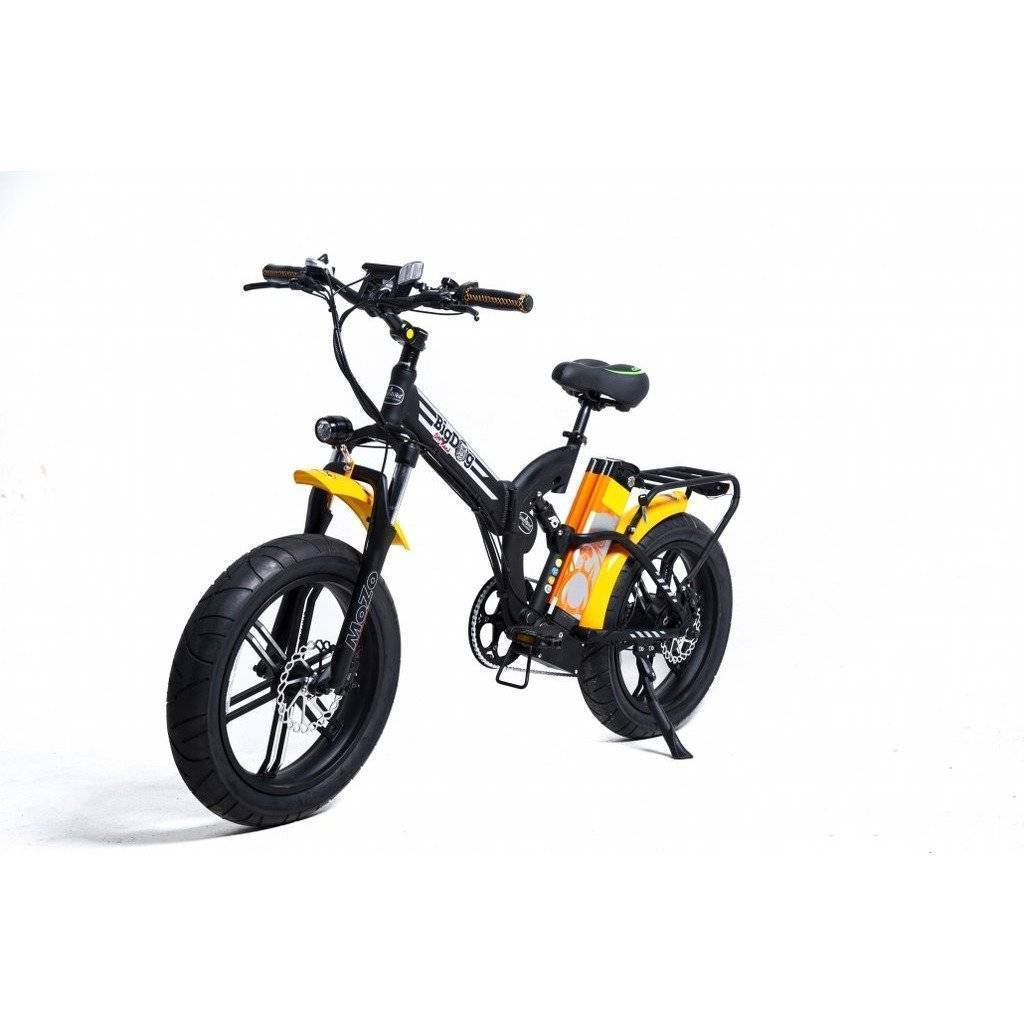 GreenBike Electric Motion Big Dog Off Road 2021 EDITION 48V/15.9Ah 750W Folding Fat Tire Electric Bike