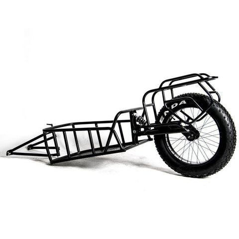 Image of Eunorau Single track Fat Tire Cargo Bike Trailer For Hunting