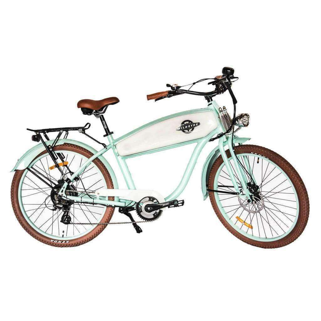 Wildsyde Hunni Bunni 48V/17.5Ah 500W Retro Cruiser Electric Bike