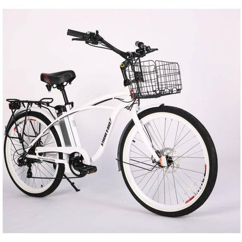 Image of X-Treme Newport Elite 24V/10.4Ah 300W Beach Cruiser Electric Bike